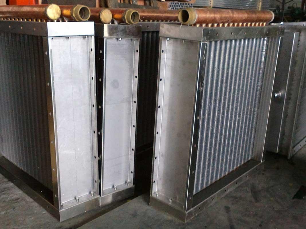 洗衣水厂空气散热器