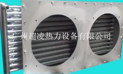 纸浆托的定型烘干用空气换热器