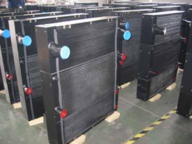 工程机械冷却器