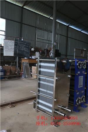 色拉油冷却专用冰力达不锈钢板换