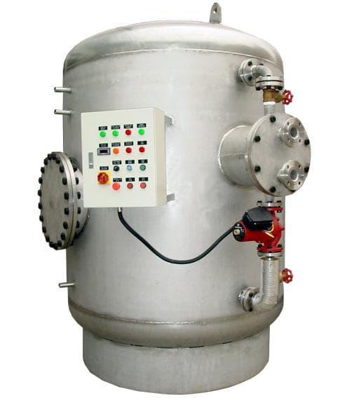 半容積式熱交換器