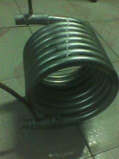 圆形小型套管换热器
