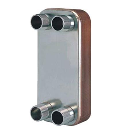 釬焊式板式熱交換器