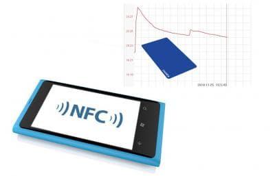 NFC温度记录标签