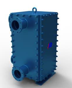 SF全焊式板壳换热器