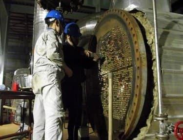 熱網加熱器換管
