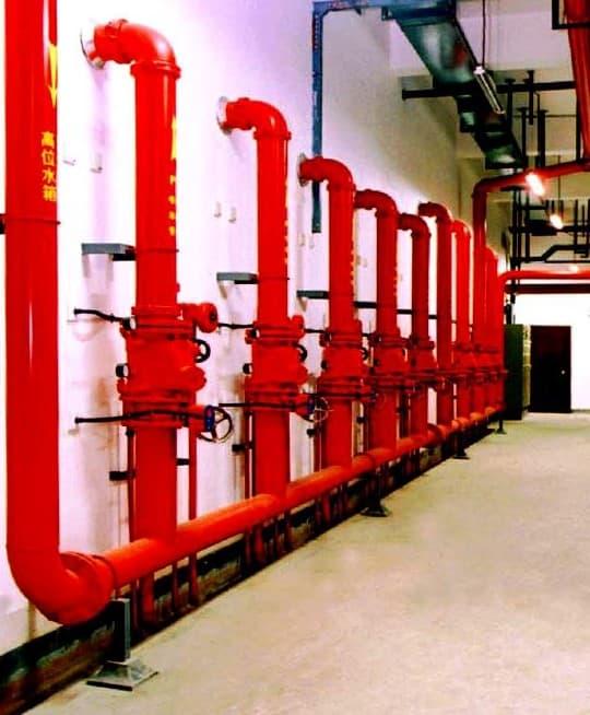 工厂楼宇二级消防安装与维保工程