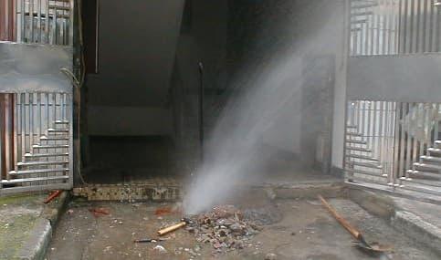 供水管抢修工程