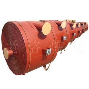 卧式不可拆式螺旋板式换热器