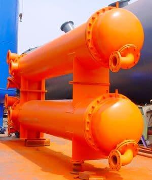 供应高炉冲渣水换热器