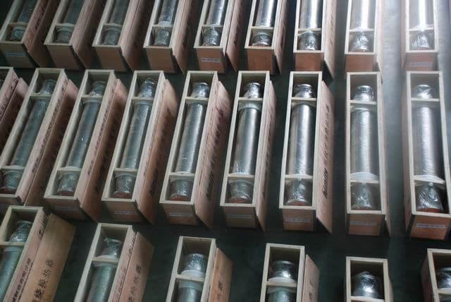 生产供应螺纹管缠绕式换热器