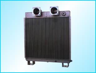 用于压缩机的散热冷却系列换热器