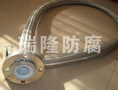 不銹鋼網套波紋四氟軟管