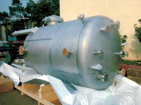 不銹鋼儲液罐