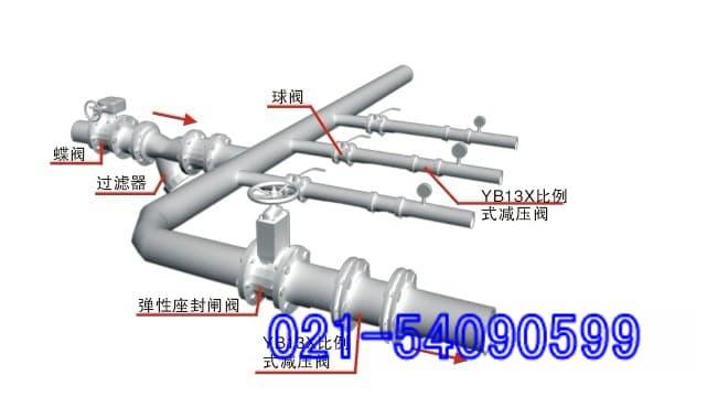 YB13X比例式减压阀