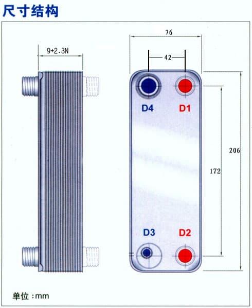 供应盘锦钎焊及可拆换热器