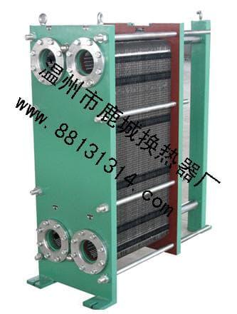 寬流道闆式換熱器