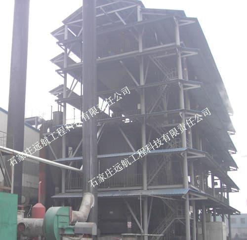 兩段式煤氣發生爐設備