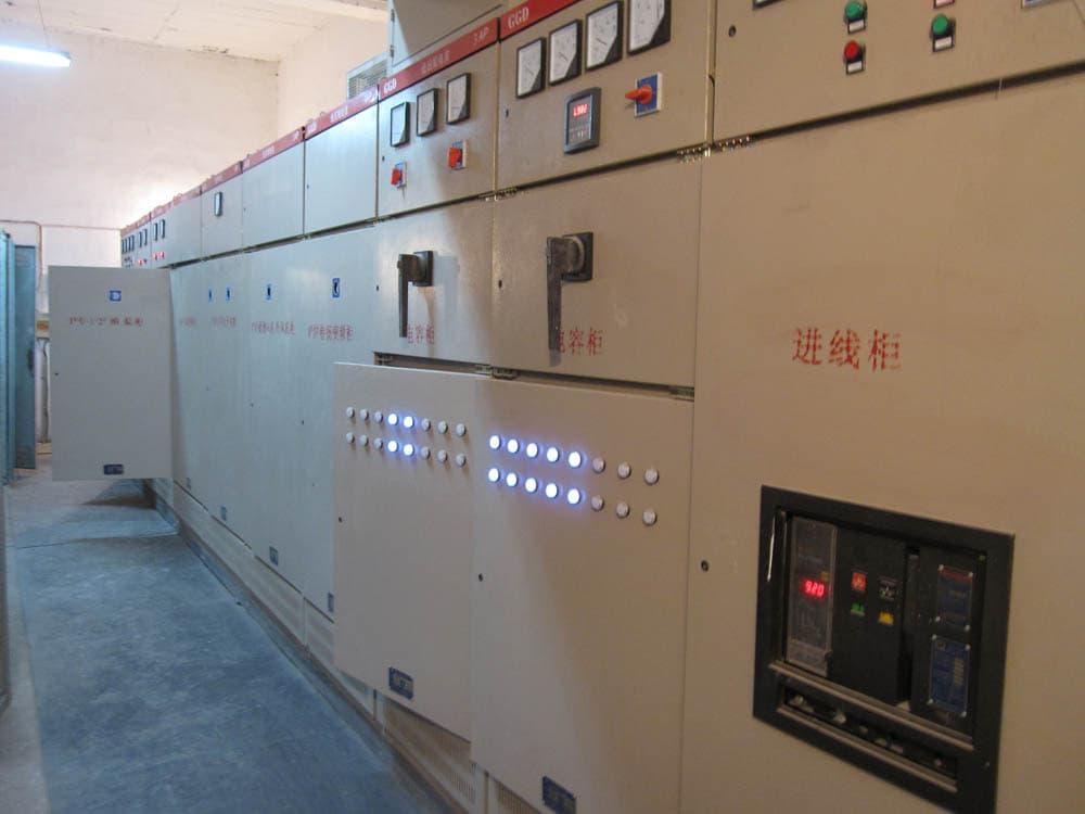 石灰窑电气自动化设备电气室电控室