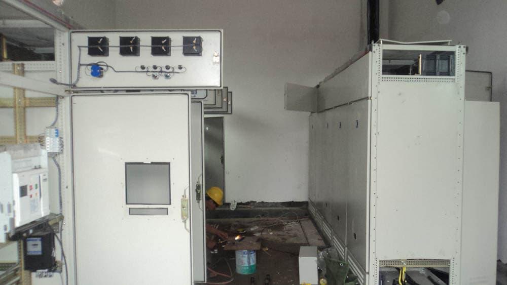 石灰窑检测仪表系统电气自动化