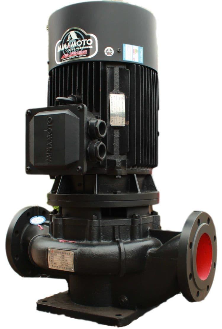 超静音立式管道泵