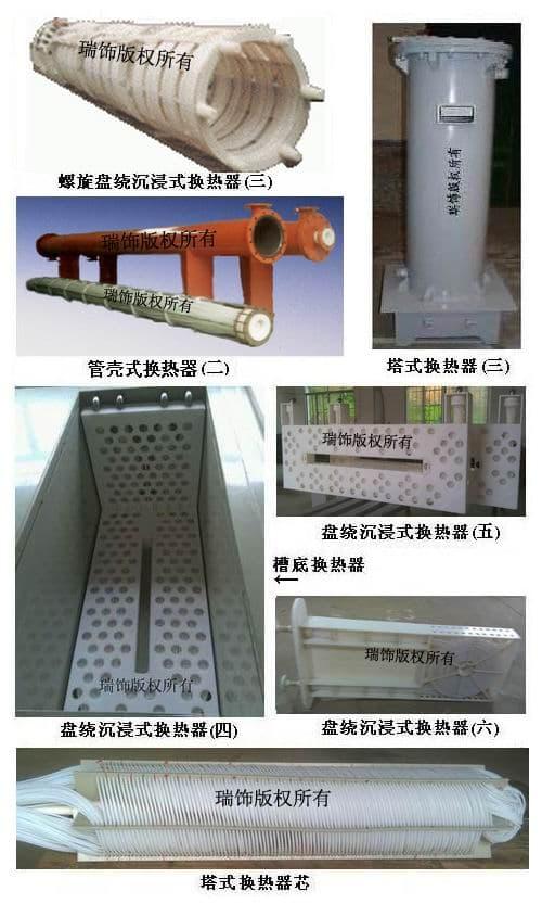 HRSF-硫酸冷凝器,硫酸冷却器