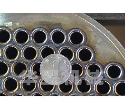缠绕管式换热器换热管与管板氩弧脉冲自动焊接