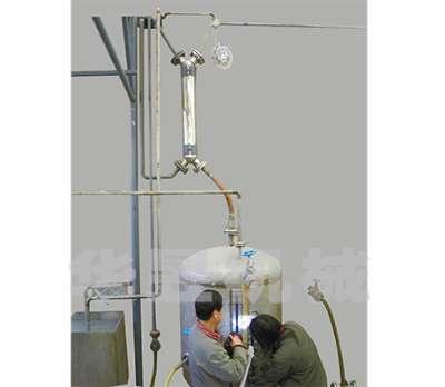 螺旋缠绕管冷凝器使用现场