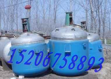 出售二手5立方不锈钢反应釜