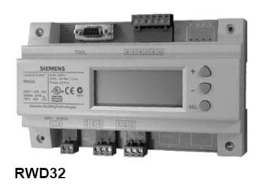 西门子温湿度控制器RWD62 RWD68