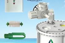 EQB中央空调水冷机组除垢防垢自动刷洗