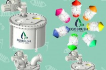 列管冷凝器清洗EQOBRUSH全自动刷式在线清洗装置