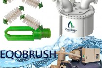 列管冷凝器防垢EQOBRUSH管刷清洗装置