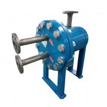 板壳换热器 全焊接式板壳换热器 耐高温高压腐蚀