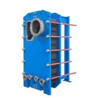 板式蒸发器 不锈钢钎焊板式换热器蒸发器