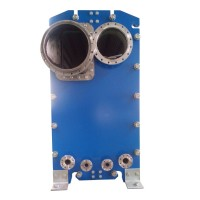 供暖暖通钎焊式板式换热器蒸发器 EC650板式蒸发器