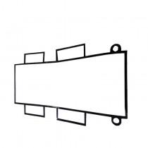 换热器胶垫 耐高温板式换热器密封胶垫 型号齐全申请