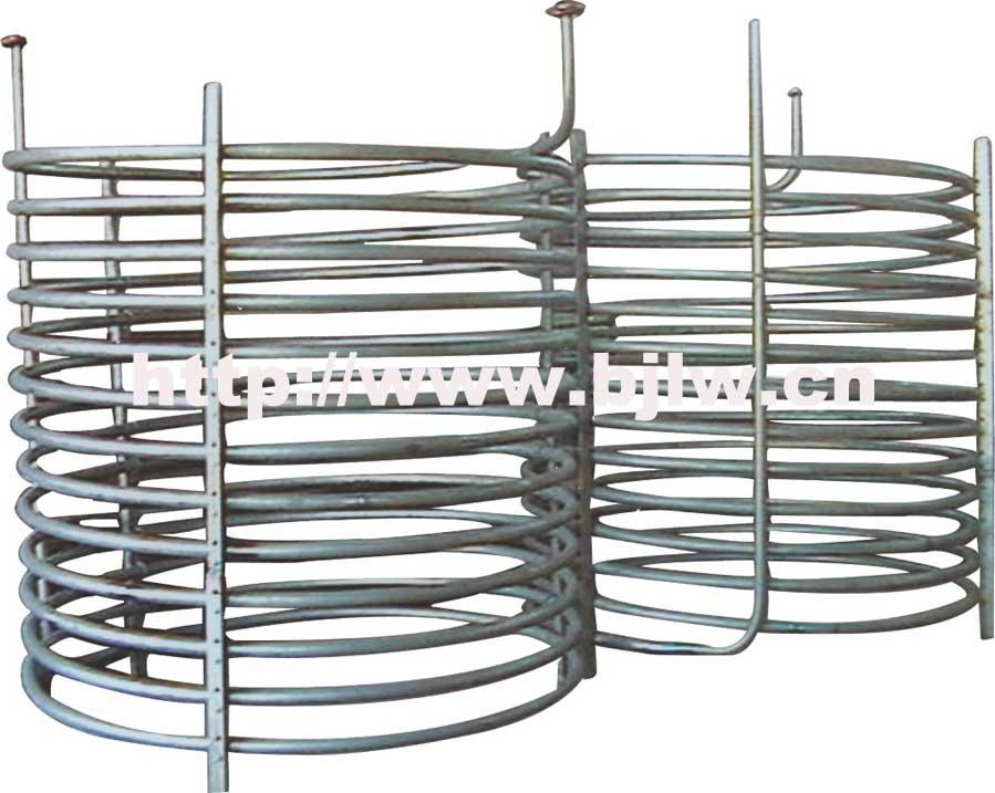 钛盘管加热器