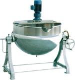 可倾带搅拌夹层锅