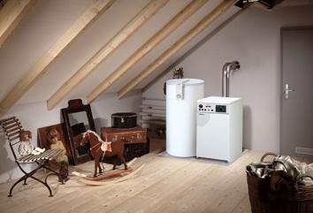 德国菲斯曼燃气冷凝采暖锅炉