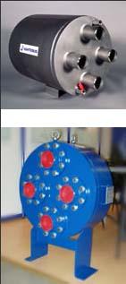 紧凑型 板壳式换热器