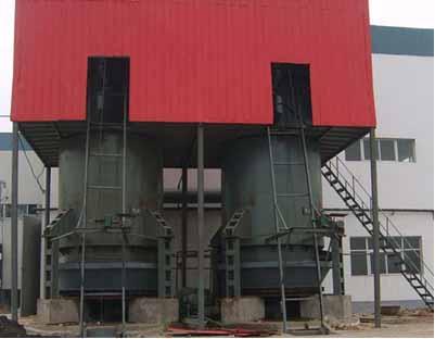 工业用煤气发生炉