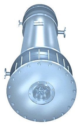 GGH型新型列管石墨换热器