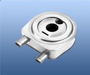圆形机油冷却器