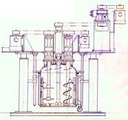 液压升降多功能高速分散搅拌釜